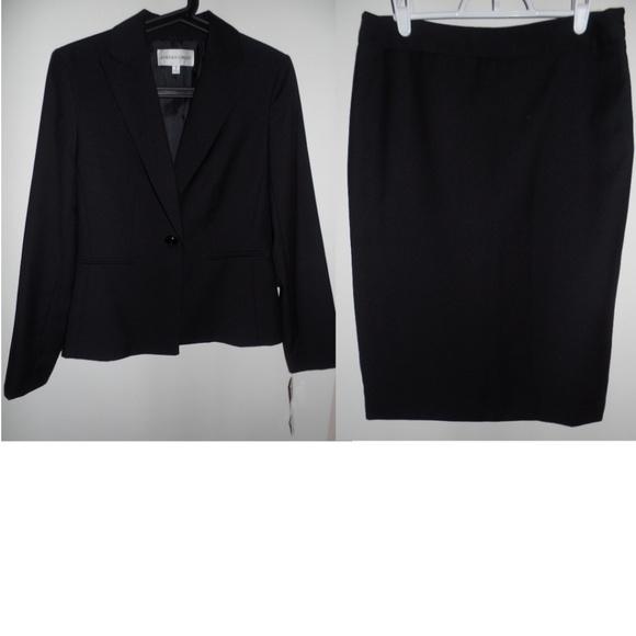 Jones New York Dresses & Skirts - NWT Jones New York Black Career Skirt Suit, sz 4